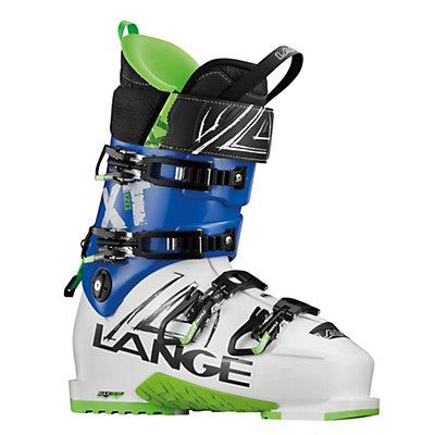 Lange XT 120 Ski Boots, White-Blue, viewer