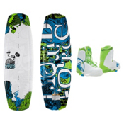 Liquid Force Harley Wakeboard With Harley Bindings, 139cm, medium