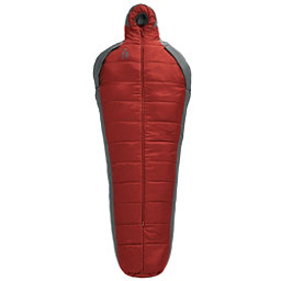 Sierra Designs Mobile Mummy Synthetic Regular Sleeping Bag, Red Dahlia-Smoked Pearl, 256