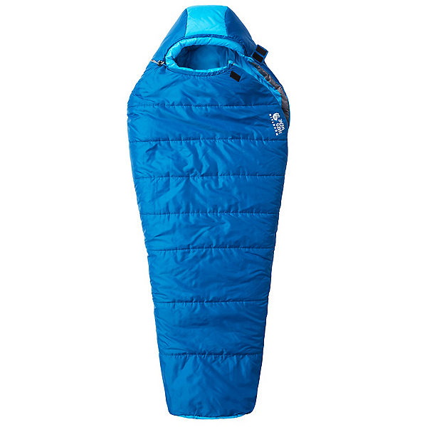 Mountain Hardwear Bozeman Flame Regular Womens Sleeping Bag 2017, Deep Lagoon, 600