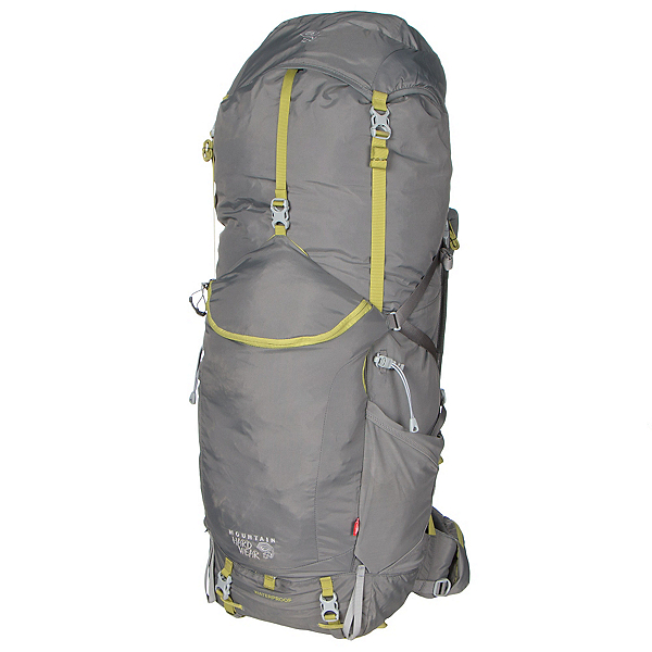 Mountain Hardwear Ozonic 65 Outdry Backpack, Titanium, 600