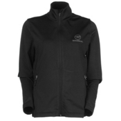 Rossignol Clim Jacket Womens Mid Layer, Black, medium