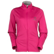 Rossignol Clim Jacket Womens Mid Layer, Berrypink, medium