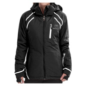 Rossignol Comet Womens Insulated Ski Jacket, Black, medium
