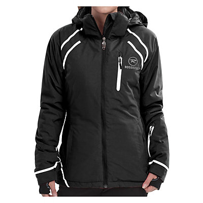 Rossignol Comet Womens Insulated Ski Jacket, Black, viewer