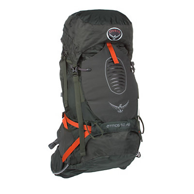Osprey Atmos 50 AG Backpack 2016, Absinthe Green, viewer