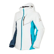Rossignol Comet STR Womens Insulated Ski Jacket, White, medium