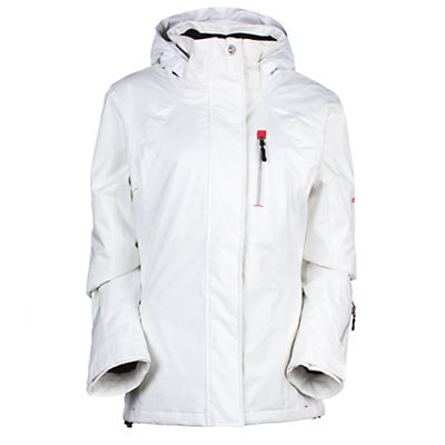 Rossignol Flurry Womens Insulated Ski Jacket, White, viewer