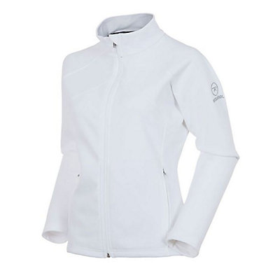 Rossignol Glory FZ Clim Womens Mid Layer, White, viewer