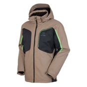 Rossignol Warrior Mens Insulated Ski Jacket, Walnut, medium