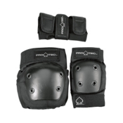 Pro-Tec Street Gear Junior Three Pad Pack, Black, medium