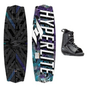 Hyperlite Tribute Wakeboard With Frequency Bindings, , medium