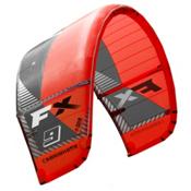 Cabrinha FX Kiteboarding Kite, Red-Gray, medium