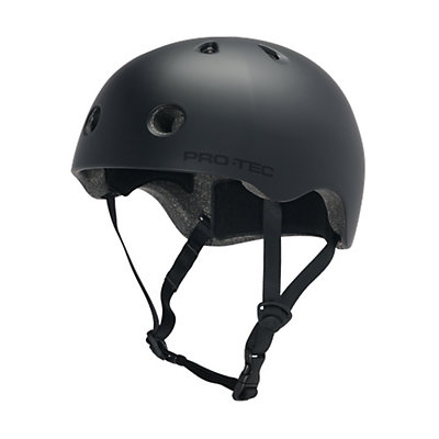 Pro-Tec Street Lite Mens Skate Helmet, Satin Black, viewer