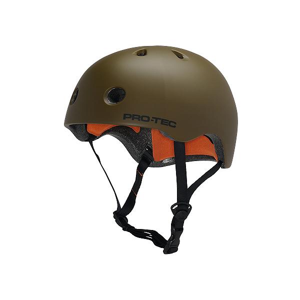 Pro-Tec Street Lite Mens Skate Helmet, Satin Army Green, 600