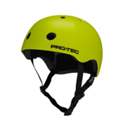 Pro-Tec Street Lite Mens Skate Helmet, Satin Bright Green, medium