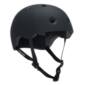 Pro-Tec Street Lite Mens Skate Helmet, Rubber Black, medium