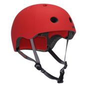 Pro-Tec Street Lite Mens Skate Helmet, Rubber Red, medium
