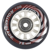 Rollerblade Wheel Kit 72mm/80A Inline Skate Wheels with SG5 Bearings - 8pack 2017, , medium