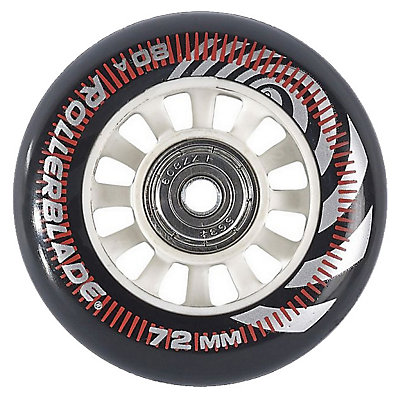 Rollerblade Wheel Kit 72mm/80A Inline Skate Wheels with SG5 Bearings - 8pack 2017, , viewer