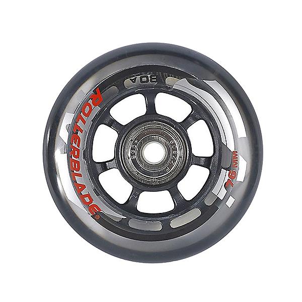 Rollerblade Wheel Kit 76mm/80A Inline Skate Wheels with SG5 Bearings - 8pack 2017, , 600