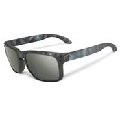 Oakley Holbrook Sunglasses, Matte Black Tortoise-Dark Grey, medium