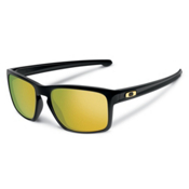 Oakley Sliver Sunglasses, Polished Black-24k Iridium, medium