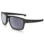 Oakley Sliver Sunglasses, Matte Black-Gray, medium