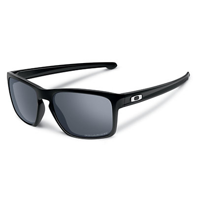 Oakley Sliver Polarized Sunglasses, Polished Black-Prizm Daily, viewer