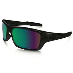 Oakley Turbine Polarized Sunglasses, Polished Black-Prizm Fresh Water, 256