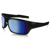 Oakley Turbine Polarized Sunglasses, Polished Black-Prizm Salt Water, medium