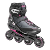 Roces Optic Womens Inline Skates, Black-Pink, medium
