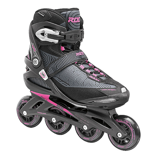 Roces Optic Womens Inline Skates, Black-Pink, 600