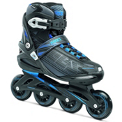 Roces Stripes Inline Skates, Black-Astro Blue, medium