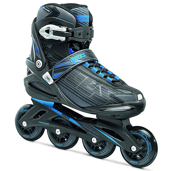 Roces Stripes Inline Skates, Black-Astro Blue, 600