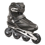 Roces Izi Inline Skates, Black-Charcoal, medium