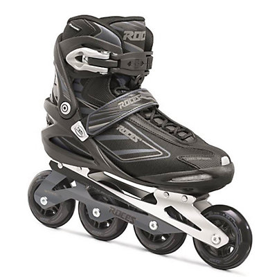Roces Izi Inline Skates, Black-Charcoal, viewer