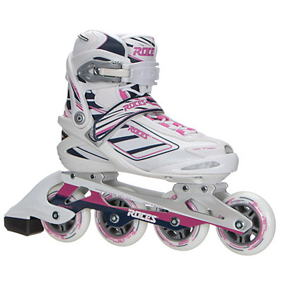Roces Izi Womens Inline Skates, White-Blue-Pink, viewer