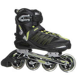 Roces Argon Inline Skates, Black-Acid Green, 256