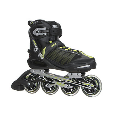 Roces Argon Inline Skates, Black-Acid Green, viewer