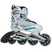 Roces Xenon Womens Inline Skates, White-Norse Blue, medium