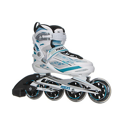 Roces Xenon Womens Inline Skates, White-Norse Blue, viewer