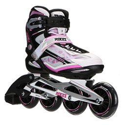 Roces Xenon Womens Inline Skates, Black-Pink, 256