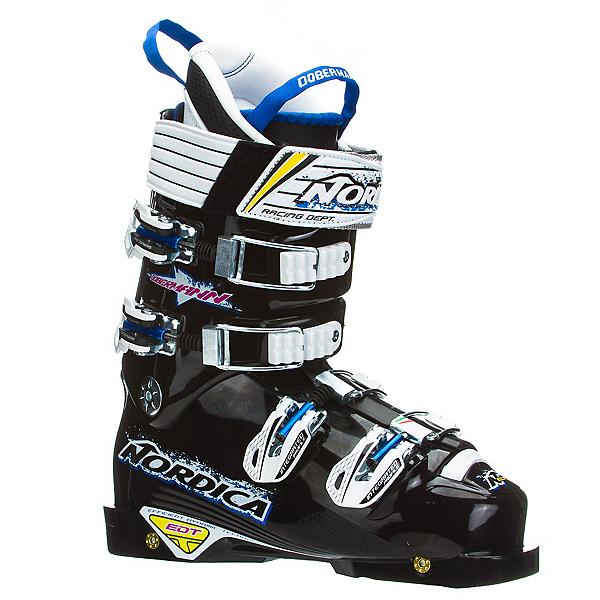 Nordica Dobermann WC EDT 130 Race Ski Boots, Black, 600