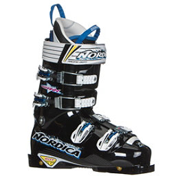 Nordica Dobermann WC 150 EDT Race Ski Boots, Black, 256