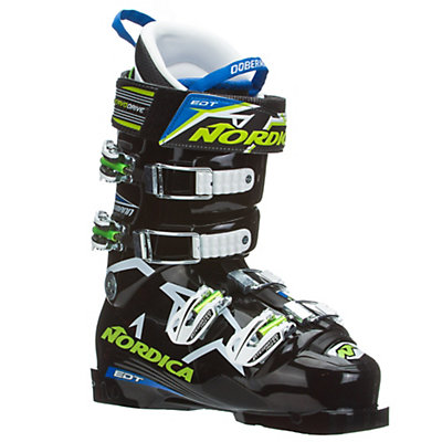 Nordica Dobermann WC 130 EDT Race Ski Boots, Black, viewer