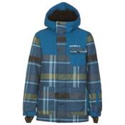 O'Neill Volcano Boys Snowboard Jacket, Blue Aop, medium