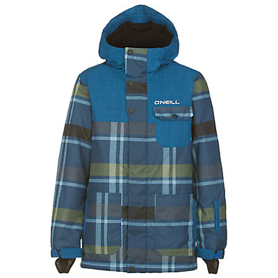 O'Neill Volcano Boys Snowboard Jacket, , viewer