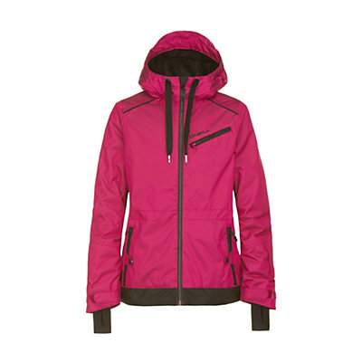 O'Neill Furry Girls Snowboard Jacket, Framboise Pink, viewer