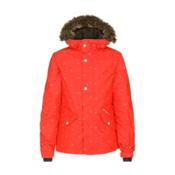 O'Neill Gemstone Girls Snowboard Jacket, Poppy Red, medium